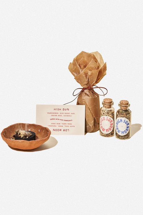 HIGH SUN LOW MOON - LOOSE INCENSE - Fortune Goods