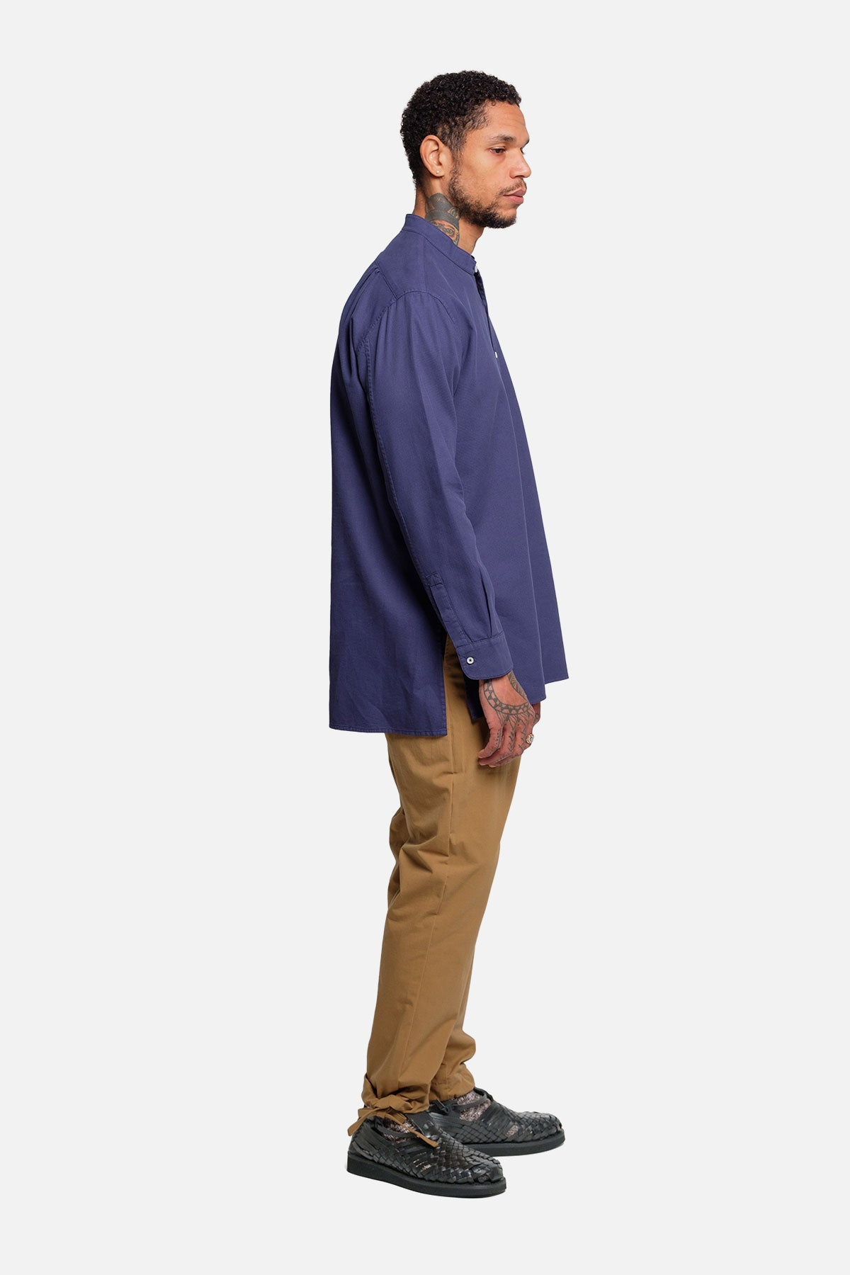 POPOVER TUNIC IN BLUE - Fortune Goods