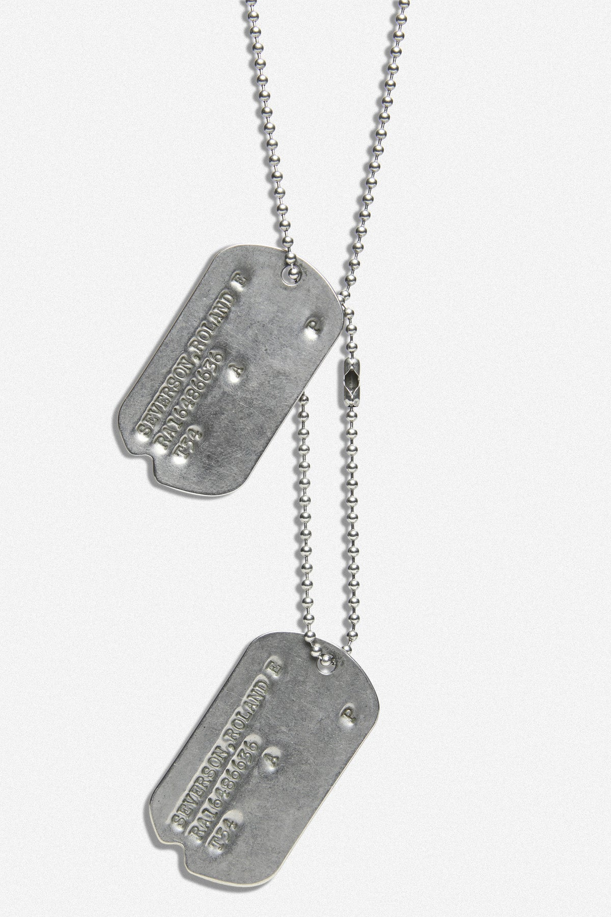 "KOREAN WAR TAGS, "" ROLAND E SEVERSON"" - Fortune Goods"