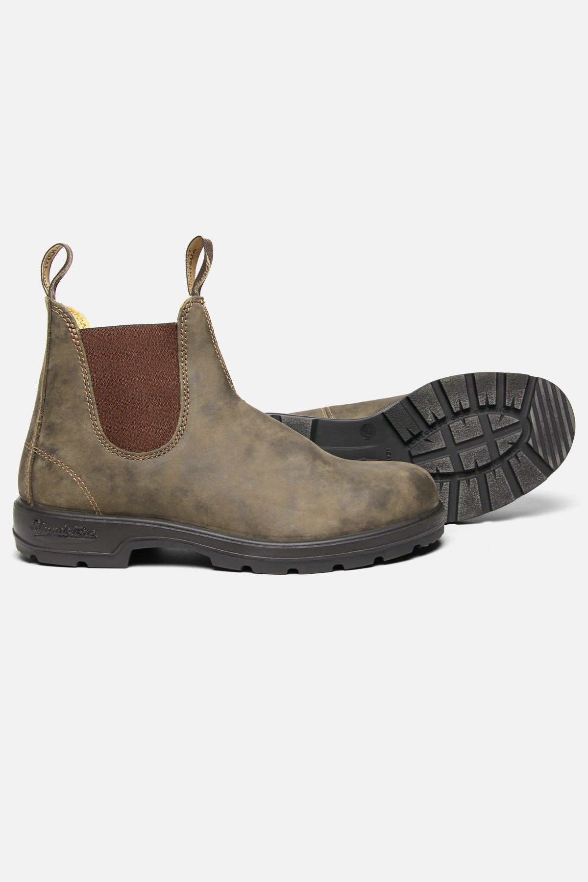 BLUNDSTONE 550 IN RUSTIC BROWN - Fortune Goods