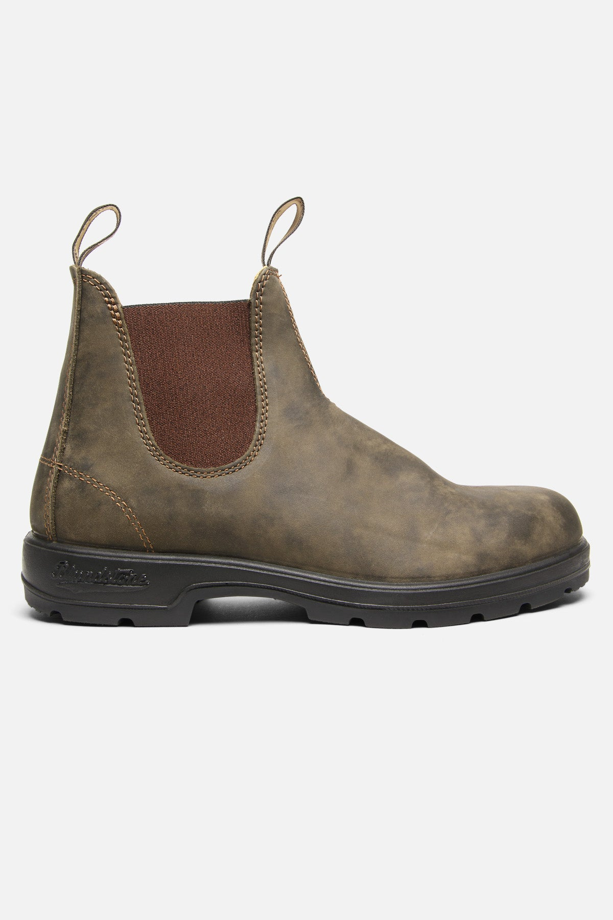 BLUNDSTONE SUPER 550 IN RUSTIC BROWN - Fortune Goods