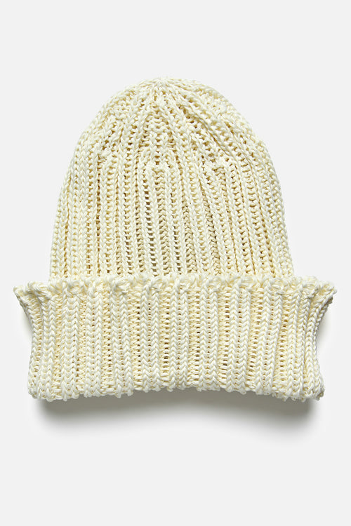 CABLEAMI WATCH CAP IN IVORY - Fortune Goods