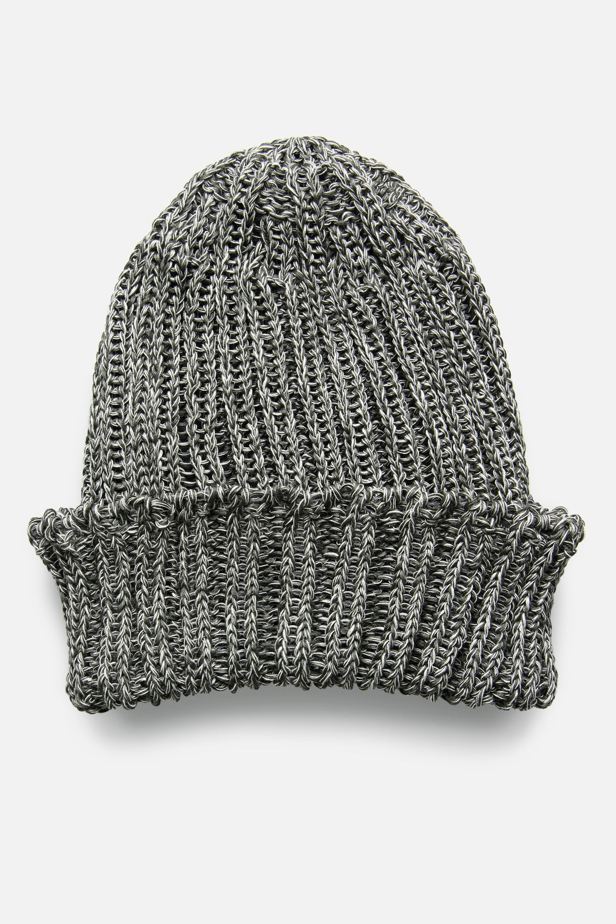 CABLEAMI WATCH CAP IN GRAY MIX - Fortune Goods
