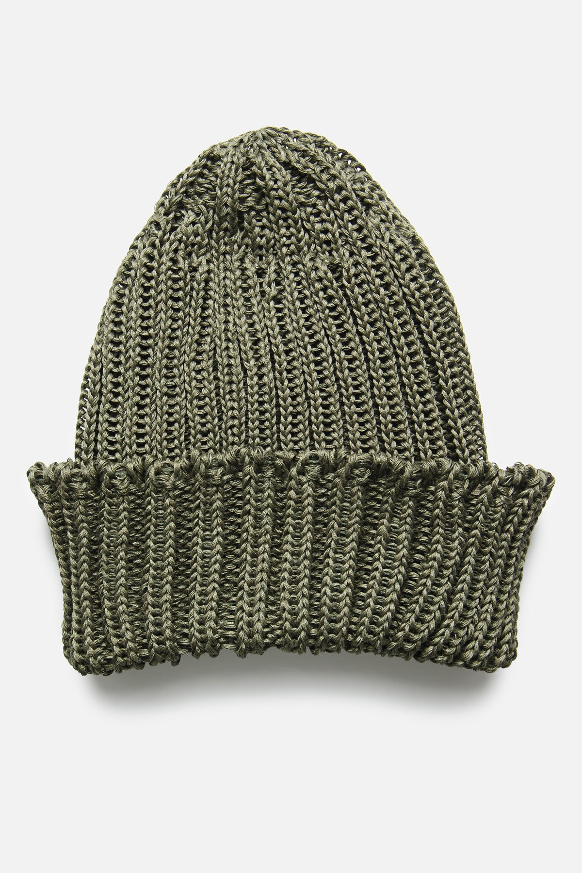 CABLEAMI WATCH CAP IN OLIVE - Fortune Goods