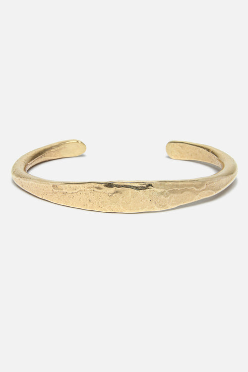 CRESCENT CUFF IN GOLD BRONZE - Fortune Goods