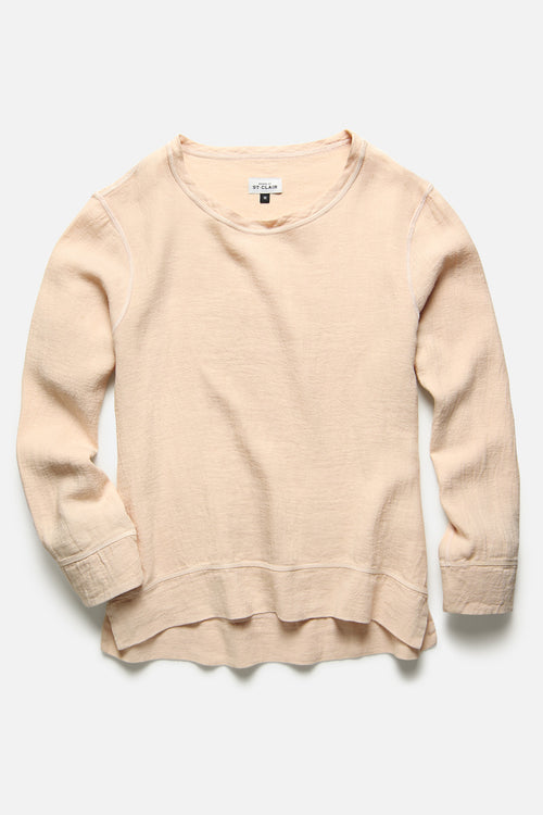PULLOVER IN PEACH IVORY - Fortune Goods