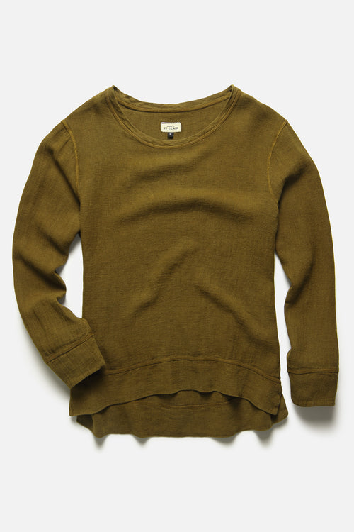 PULLOVER IN MOSS - Fortune Goods