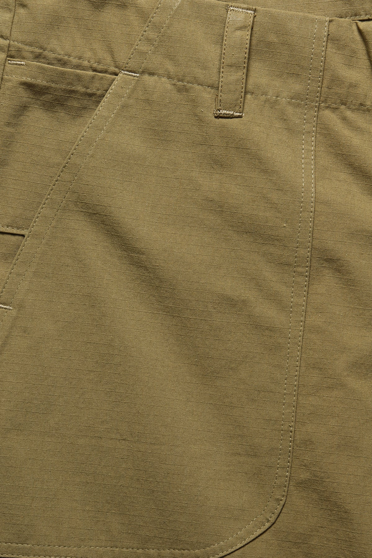 OG SHORT IN KHAKI RIPSTOP - Fortune Goods