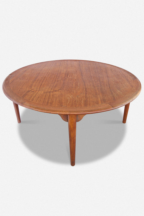 ROUND MID-CENTURY COFFE TABLE - Fortune Goods