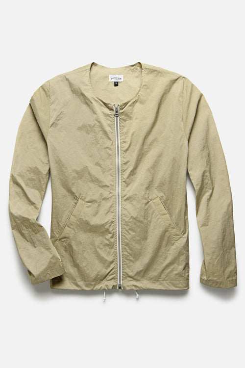 DECONSTRUCTED ANORAK IN TAN - Fortune Goods