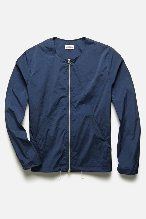 DECONSTRUCTED ANORAK IN NAVY - Fortune Goods