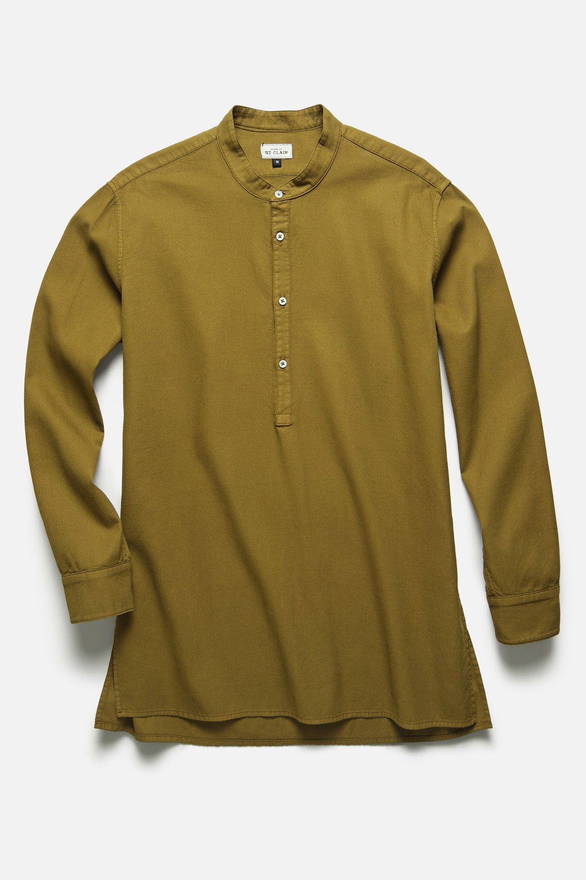POPOVER TUNIC IN OLIVE - Fortune Goods