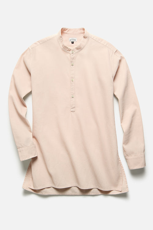 POPOVER TUNIC IN PEACH IVORY - Fortune Goods