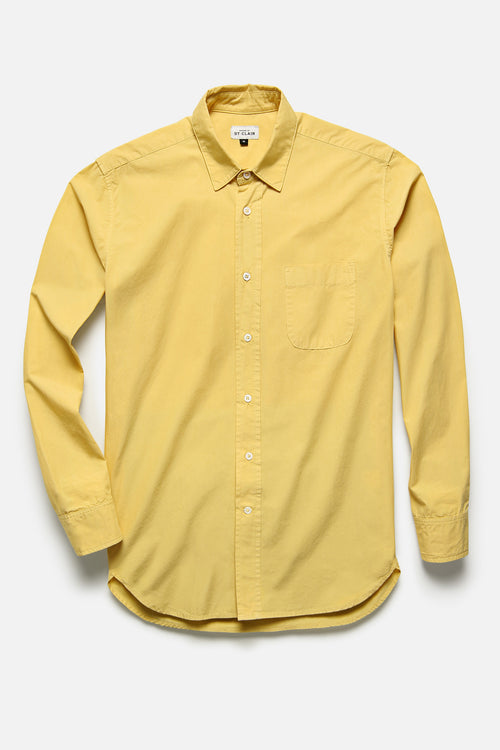 1905 SHIRT IN YELLOW TYPEWRITER - Fortune Goods