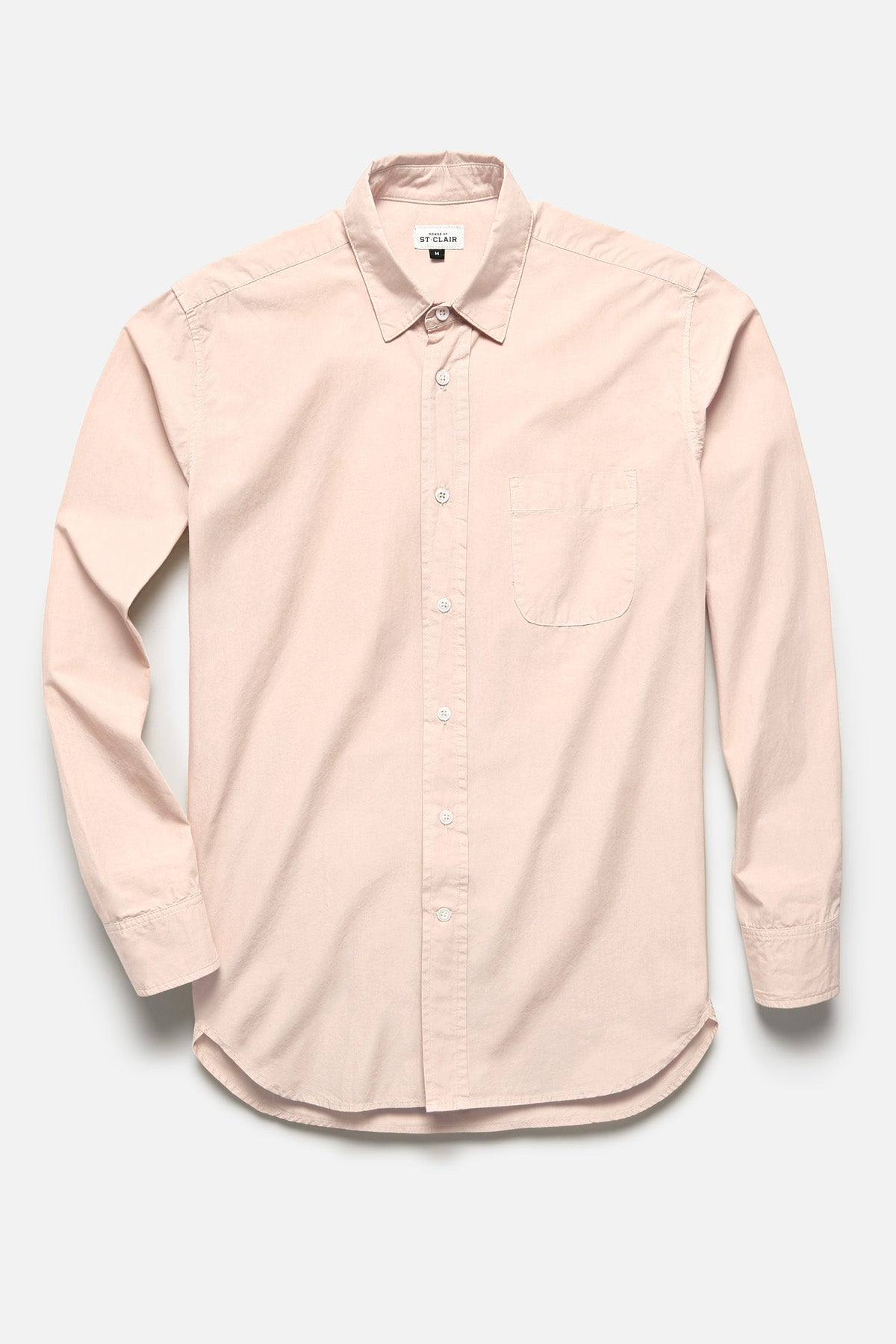 1905 SHIRT IN PEACH IVORY TYPEWRITER - Fortune Goods