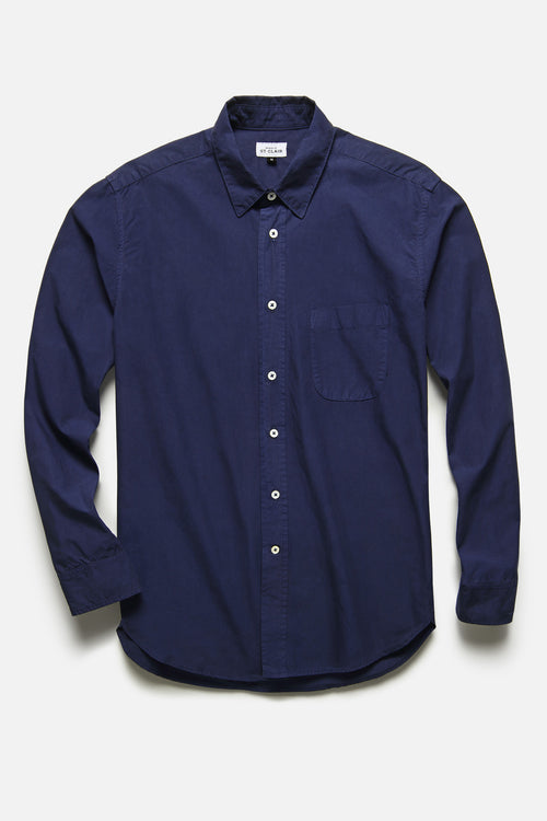 1905 SHIRT IN BLUE TYPEWRITER - Fortune Goods