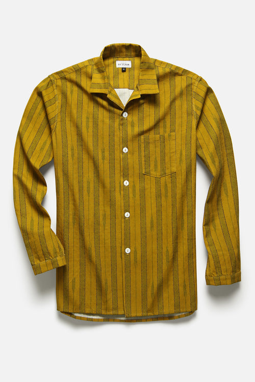 MEDINA SHIRT IN TURMERIC - Fortune Goods