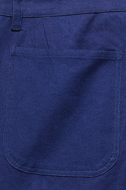 ATLAS TROUSER IN INDIGO MELON CLOTH - Fortune Goods
