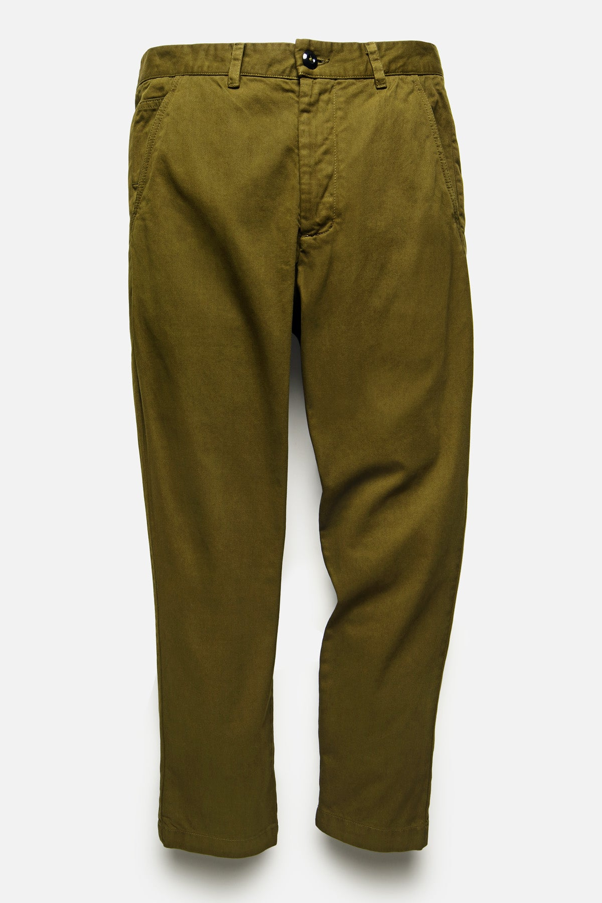 ATLAS TROUSER IN OLIVE - Fortune Goods