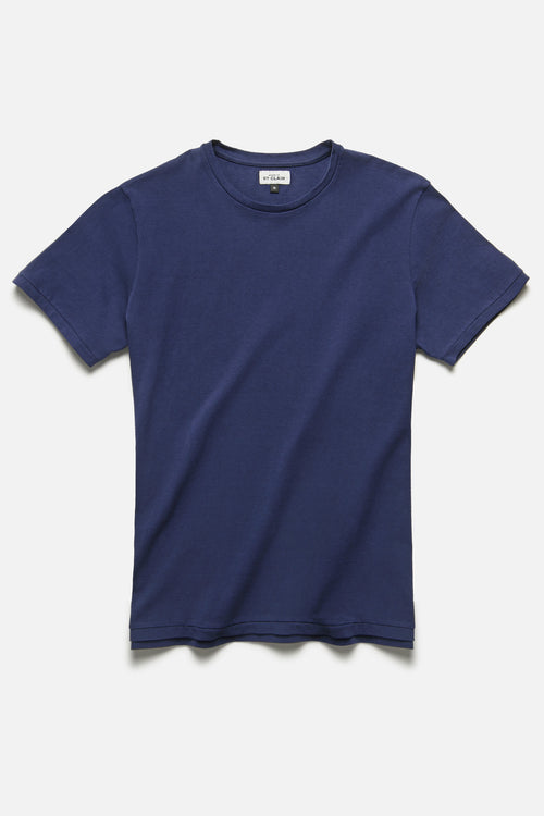 SS TEE IN BLUE - Fortune Goods
