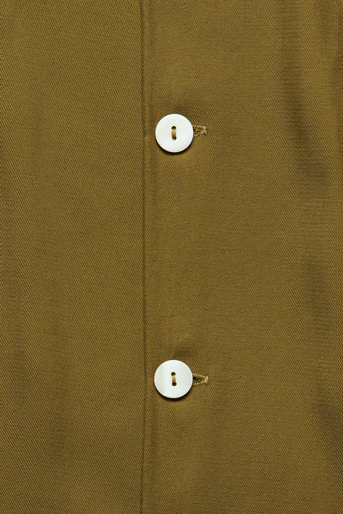 CUBA SHIRT IN OLIVE RAYON - Fortune Goods