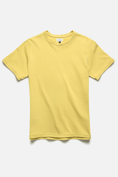 SS TEE IN YELLOW - Fortune Goods