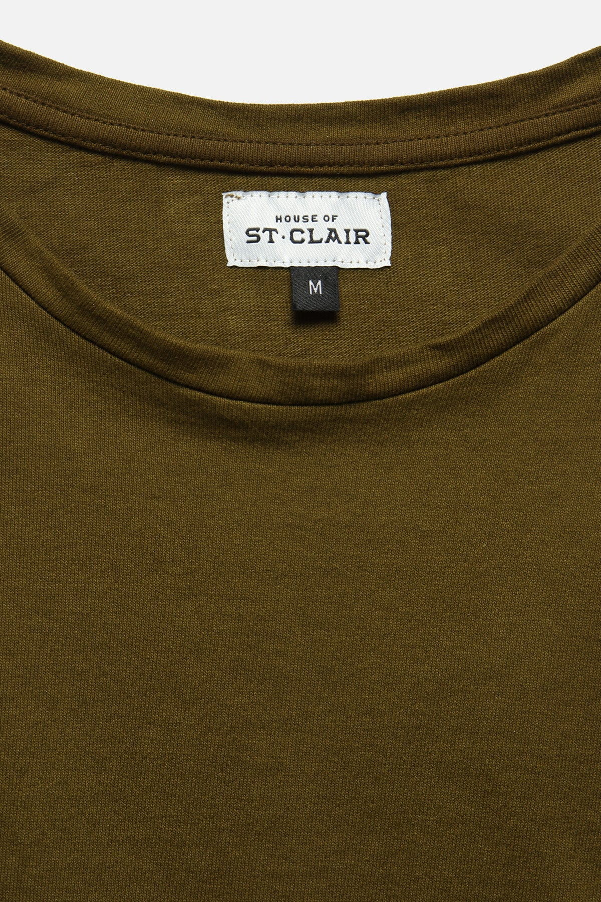 SS TEE IN OLIVE - Fortune Goods