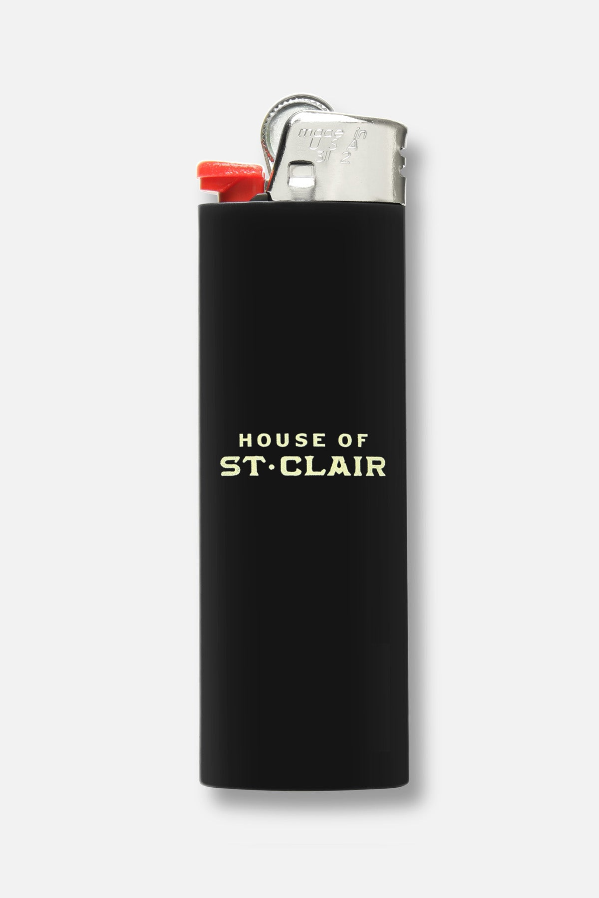 """ST. CLAIR ROSE"" BIC LIGHTER - Fortune Goods"