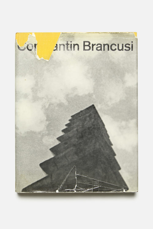 LIBRARY - BRANCUSI, FIRST EDITION / FRENCH TEXT, VINTAGE 1958 - Fortune Goods