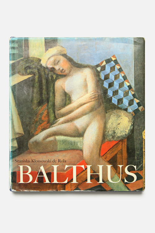 LIBRARY - BALTHUS, FIRST EDITION, VINTAGE 1983 - Fortune Goods