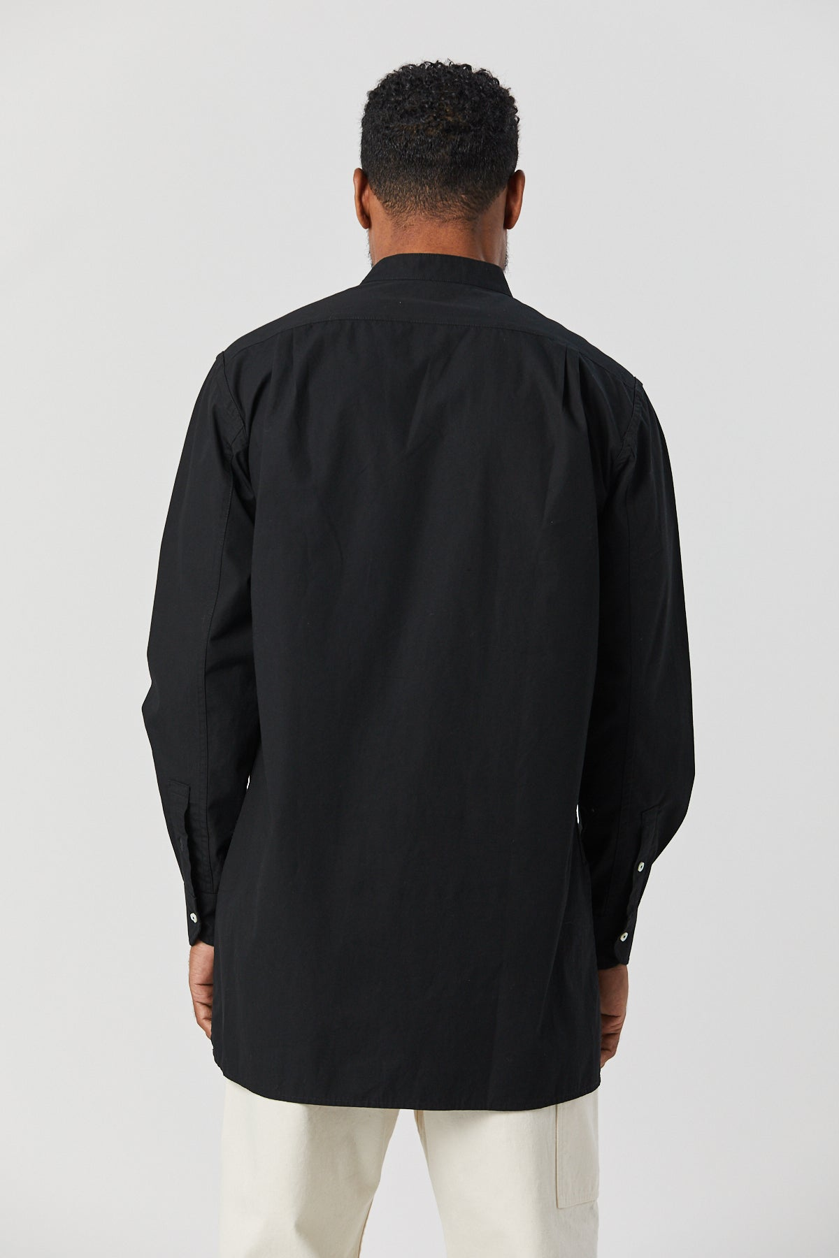 MARTIUS TUNIC IN BLACK - Fortune Goods