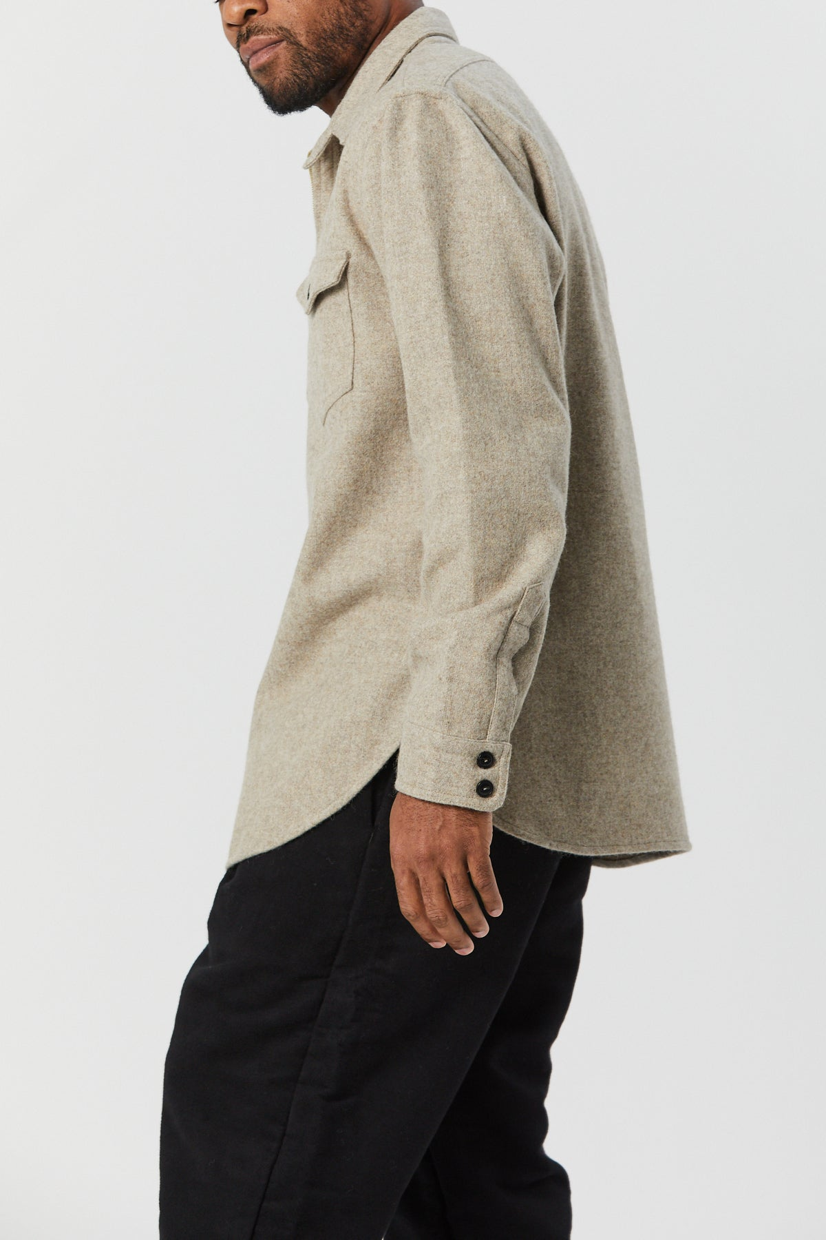 PACKARD ZIP PULLOVER IN SAND - Fortune Goods