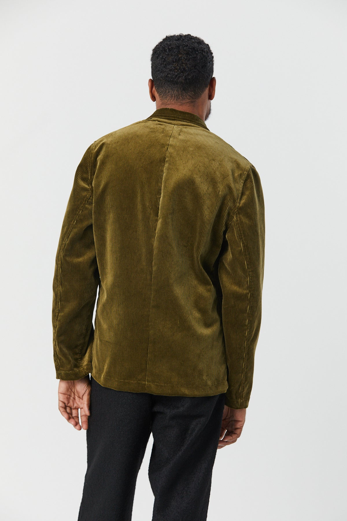 CASS JACKET IN MOUSE CORDUROY - Fortune Goods