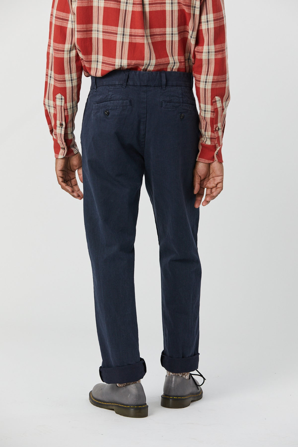 BRIGGS TROUSER IN NAVY - Fortune Goods