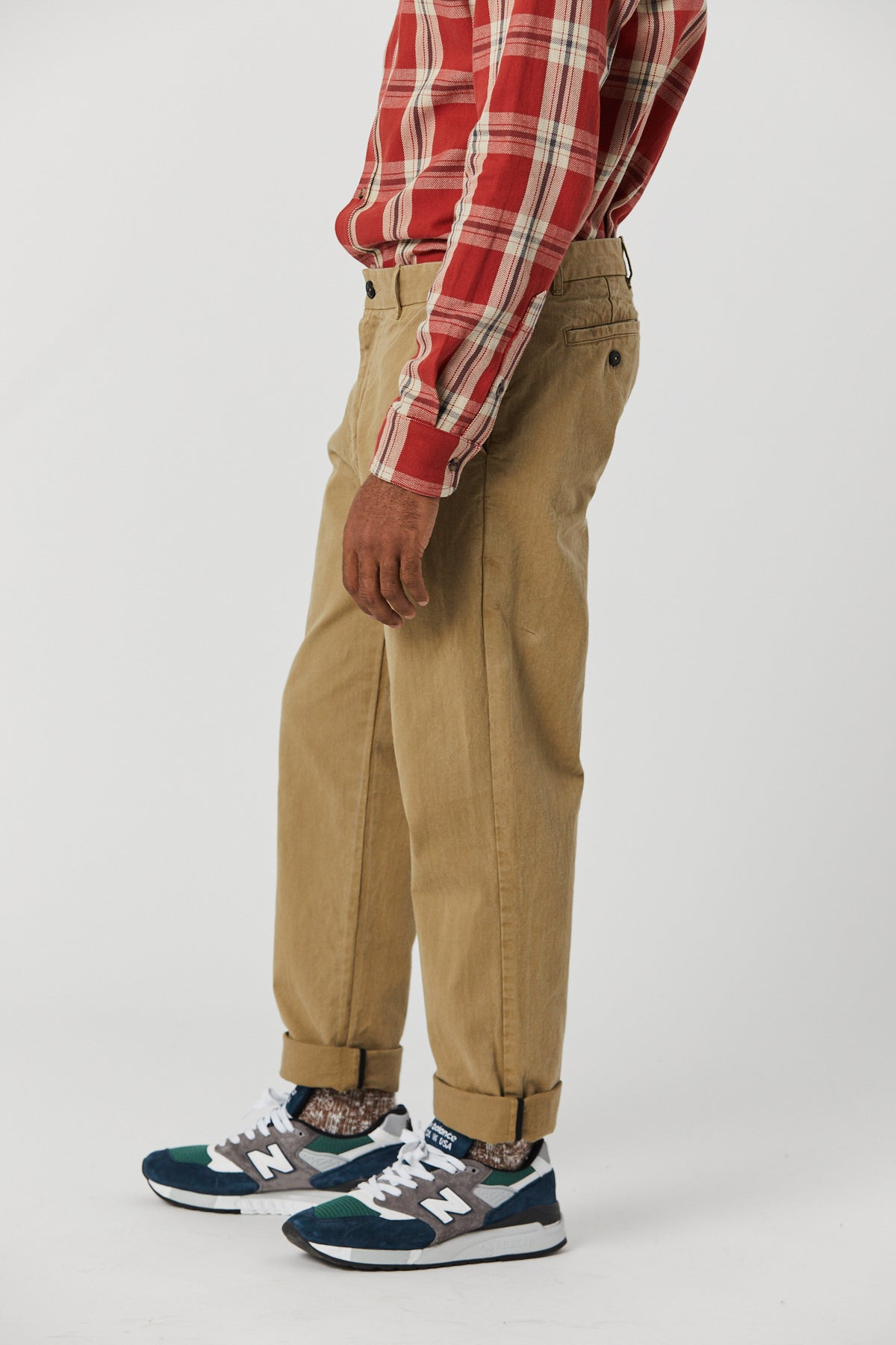BRIGGS TROUSER IN GOLD - Fortune Goods
