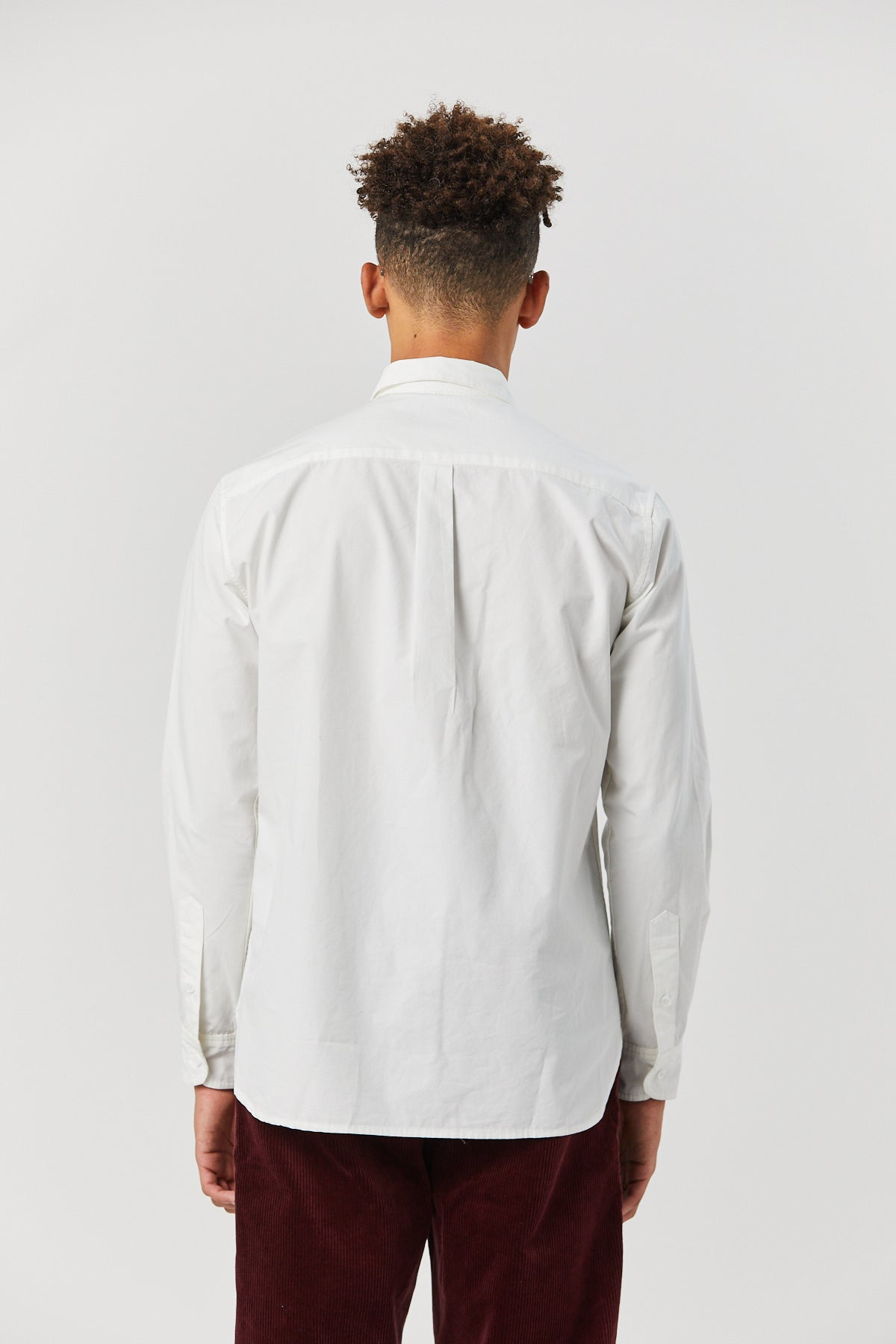 TYPEWRITER SHIRT IN WHITE - Fortune Goods