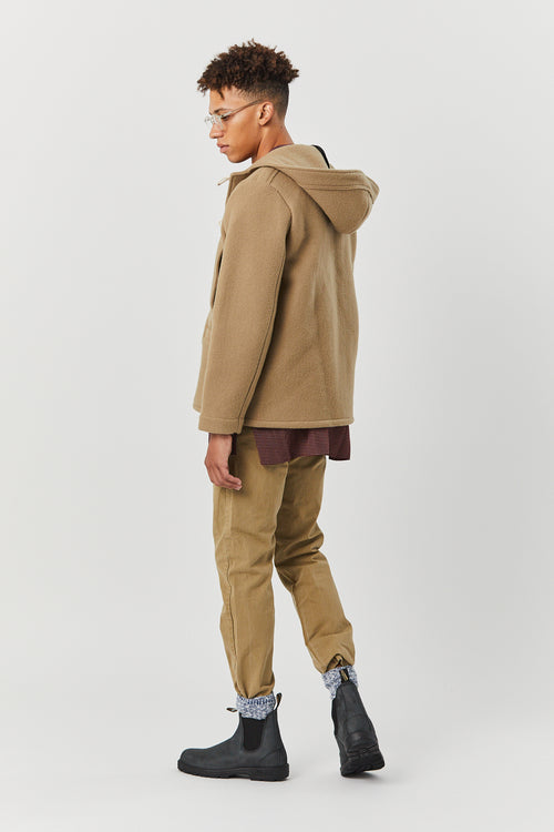 BELLE ISLE TOGGLE COAT IN CAMEL - Fortune Goods