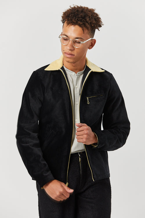 DETROIT JACKET IN BLACK - Fortune Goods