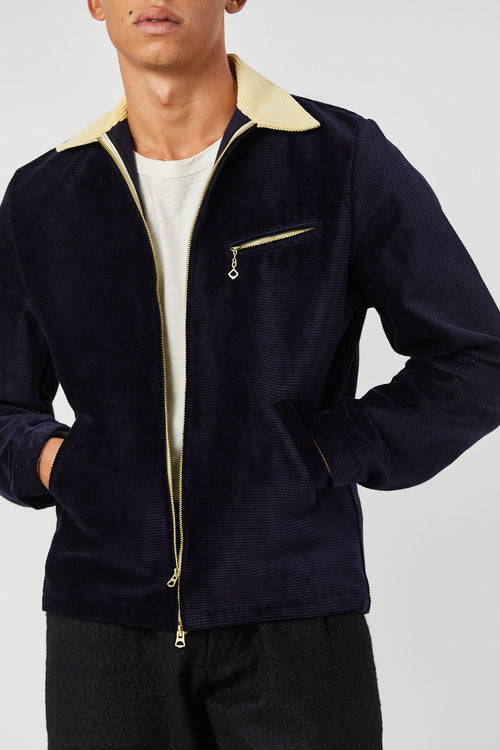 DETROIT JACKET IN NAVY - Fortune Goods