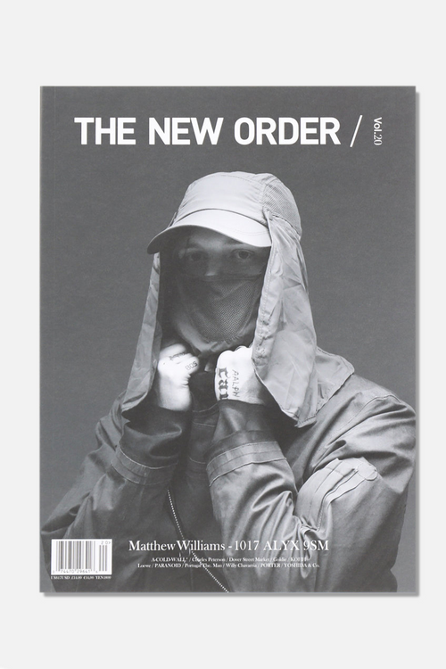 LIBRARY - THE NEW ORDER vol.20, ALYX COVER - Fortune Goods