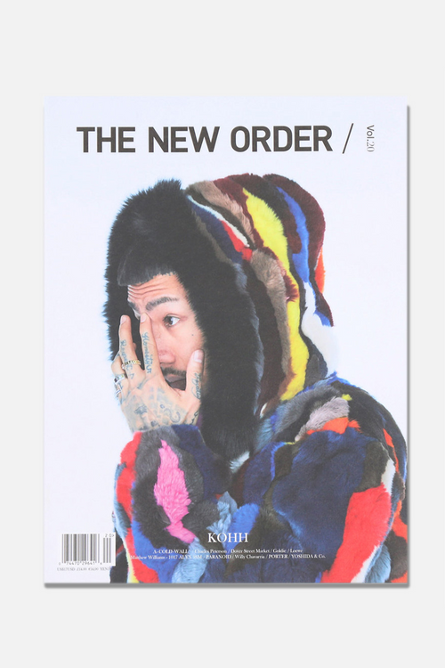 LIBRARY - THE NEW ORDER vol.20, KOHH COVER - Fortune Goods