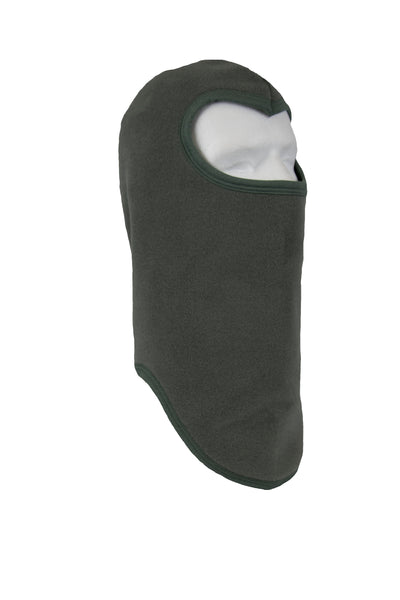 Fleece Balaclava with Polyester Trim