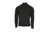 Polyester Midweight Bi-Component Men's Zip Turtleneck