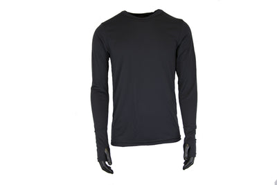Silk Weight Men's Top with Thumbcuff