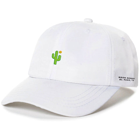 Cactus Dad Hat - White