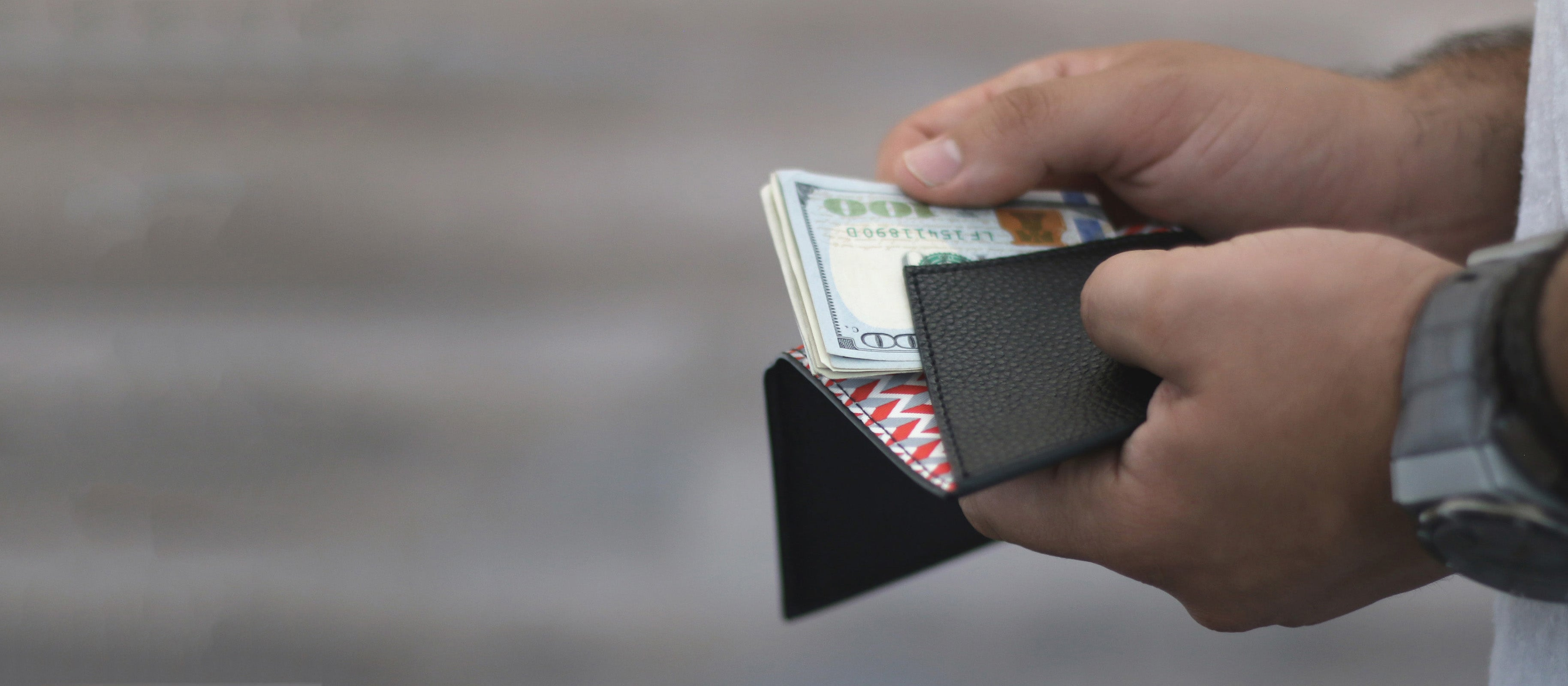Currency holder slim wallets