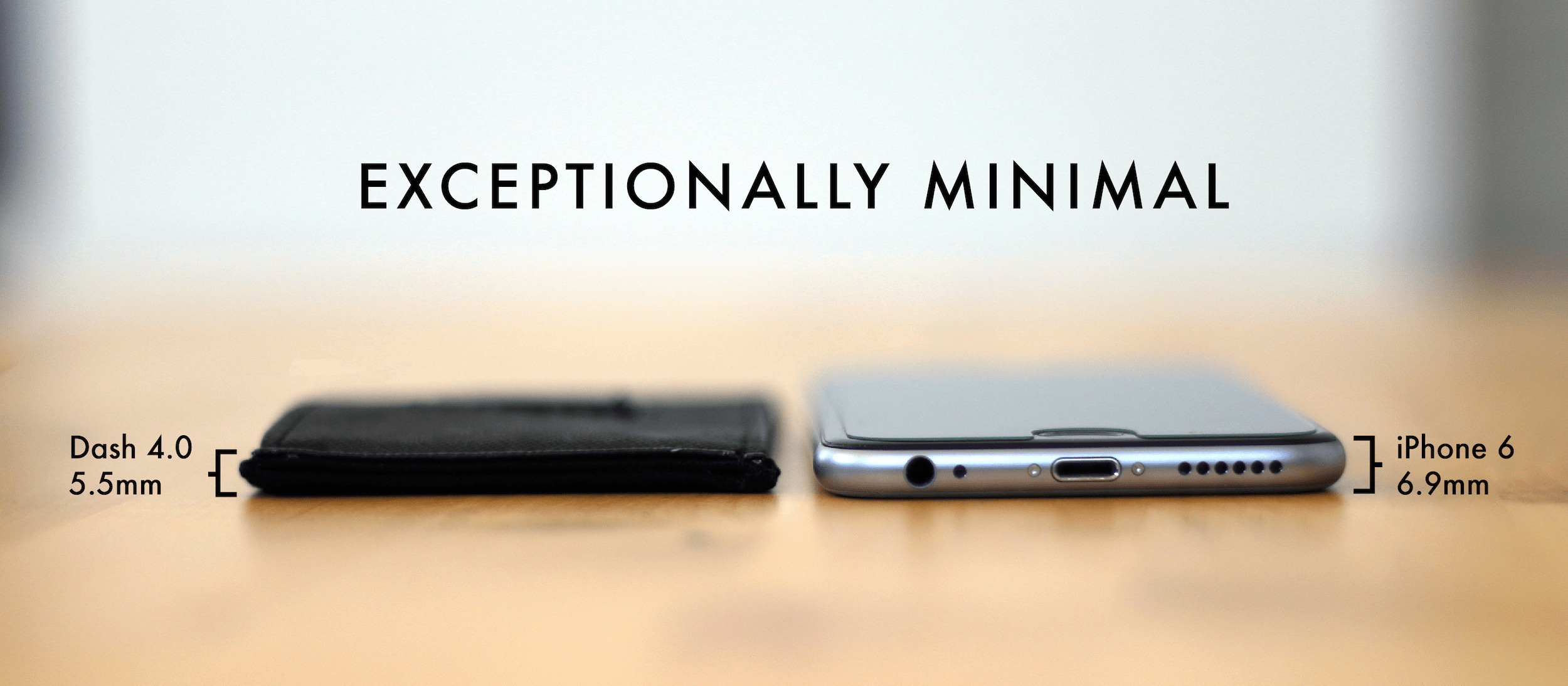 Exceptionally Minimal wallets