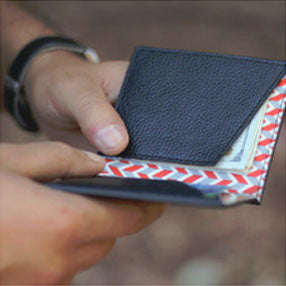 access slim front pocket leather wallets
