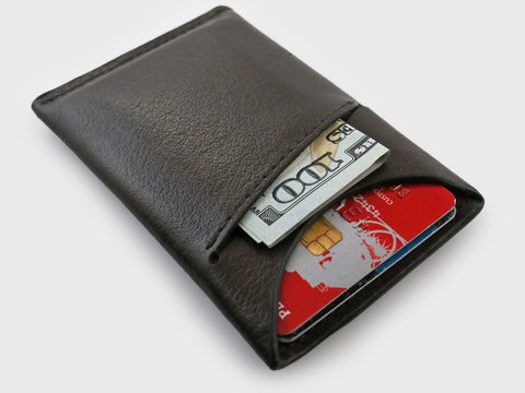slim modern wallets for men