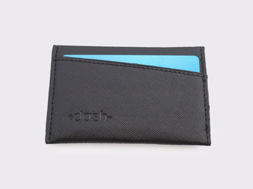 Dashwallets 3.0 Saffiano Slim Black Wallets for Sale